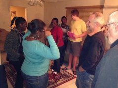 Wednesday the 11th was our first night back with our church small groups. Love these dear people!
