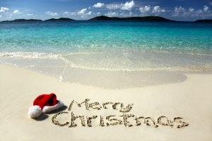 christmas beach - Copy