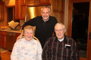 Family reunion #2-  Tim's parents.