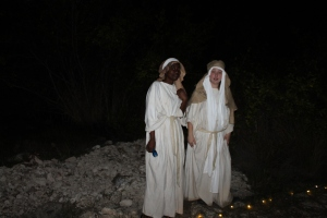 Angels spread the glad tidings of Jesus's birth!