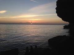 ...and a beautiful Bahamian sunset.