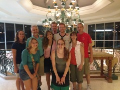 On January 13th, we were able to pick up the Lucht family at the port and show them around the island.