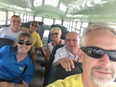 On the 24th, we went to the airport to pick up a mission team coming to serve the Bahamian people.