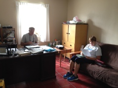 On Monday the 26th, Janice began working with Tim as his office assistant.