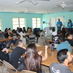 On December 14, we welcomed Florida Atlantic University students who were in Nassau for a medical mission trip.