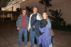 Tuesday morning the 16th, Bob and Judi and Pat left for Christmas.