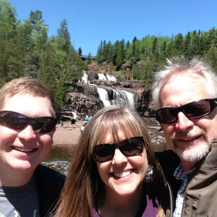 ...and Gooseberry Falls State Park.