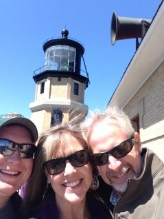 On Saturday, we toured Split Rock Light House...