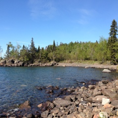 We had breath taking views of Lake Superior.