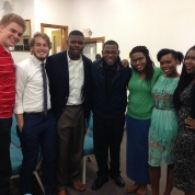 The college kids back at Kingdom Life Church.