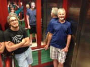 Selfie in the elevator!