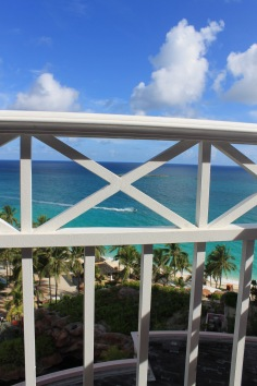 View from balcony while sitting doing my devotions.