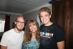 Loved having both my boys back!