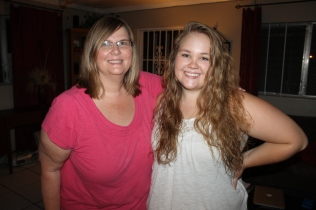 Micah Godsey and her mother Joan.