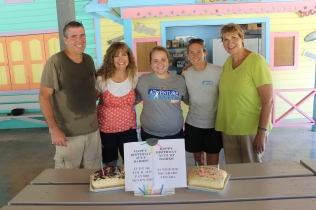 What better way to start the new year, celebrating July and August birthdays!