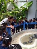 Jen Rogers teaching one of the programs