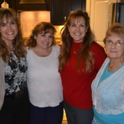 Mindy and her mom and sisters