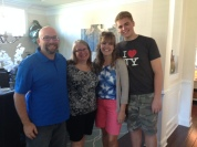 Tim's sister and husband, Chuck and Ruth Myers were driving from North Carolina to Florida and stopped in to see us.