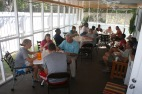 Amidst Drive-thru preparations, we were able to have the staff over one of the days for lunch and to...
