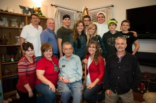 Christmas with Mindy's sisters and their families