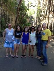 Kevin, Ady, Claudia, Tiffany Mahaffy