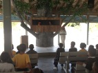 Tika: Introduction to the day with a puppet show.