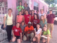 TKA helped clean and paint for Pastor Bazile