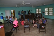 The day Mission Discovery left, we welcomed a team of 18 from James Madison University. They come every year to serve Bahamian children.