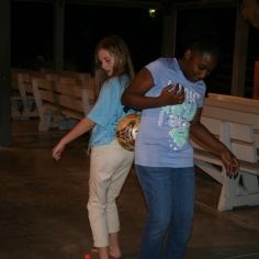Young people from SC played with young people from The Bahamas during our Youth Outreach