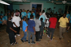 Woodlands young people led Youth Outreach at Camp.
