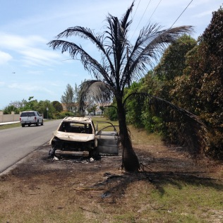 Second car fire in less than a month.