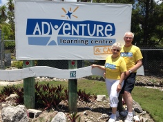 Dick and Connie Mikels, the first of our summer volunteer staff
