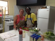 Paula Brown cooked for two weeks this summer, Mission Discovery 3 and Peace Church. The second week she was assisted by our COB intern, Ali King.