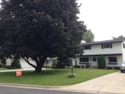 Tim's parent's house is now on the market. A new, somewhat unexpected event.