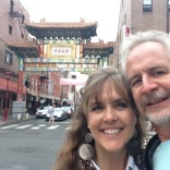 While walking the 10 blocks back to our hotel, we made a detour through China Town. Lot of interesting sights and smells.