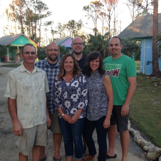 The team of six from Crossway