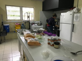 Cooking the Bahamian meal