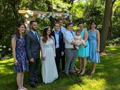 Anna's brother Toby/girlfriend, Anna/Logan, Zach, Garrett/Abby/Annie, Katie