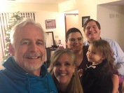 Our son Garrett, wife Abby, granddaughter Anastasia