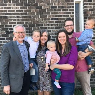 Derek and Brooke McKenzie and their children